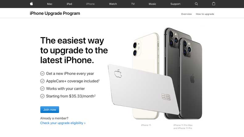 How to Pay for the Apple iPhone Upgrade Program with Apple Card
