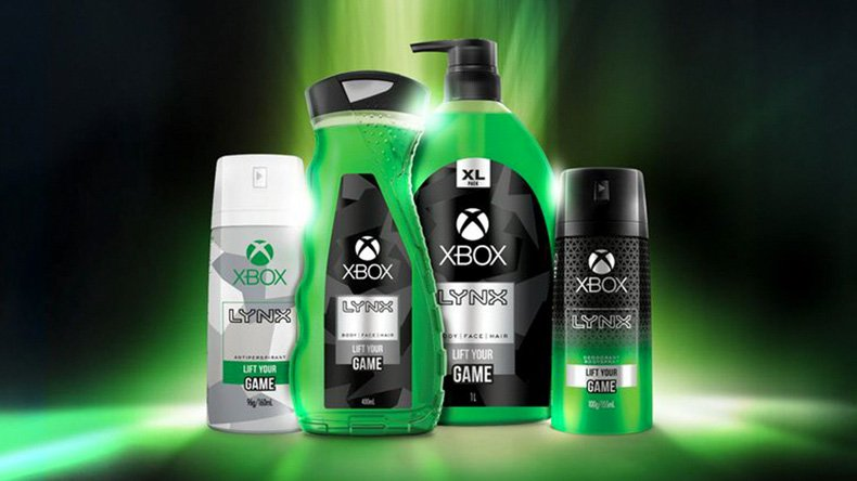 Xbox New Fragrance with Axe