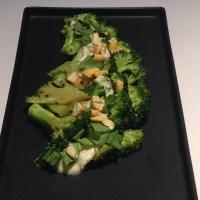 Coconut, Cashew, Lime Sauce with Stir-fried Broccoli