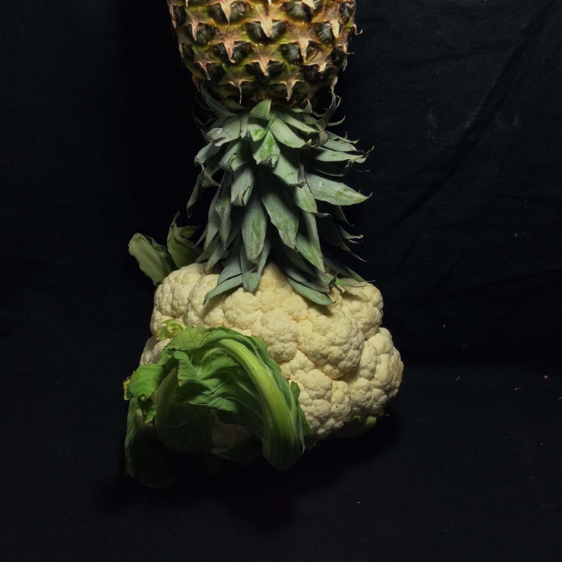 Cauliflower, Pineapple, Orange, and Rosemary Juice
