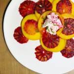 Blood Orange Breakfast Salad, vegan and vegetarian versions