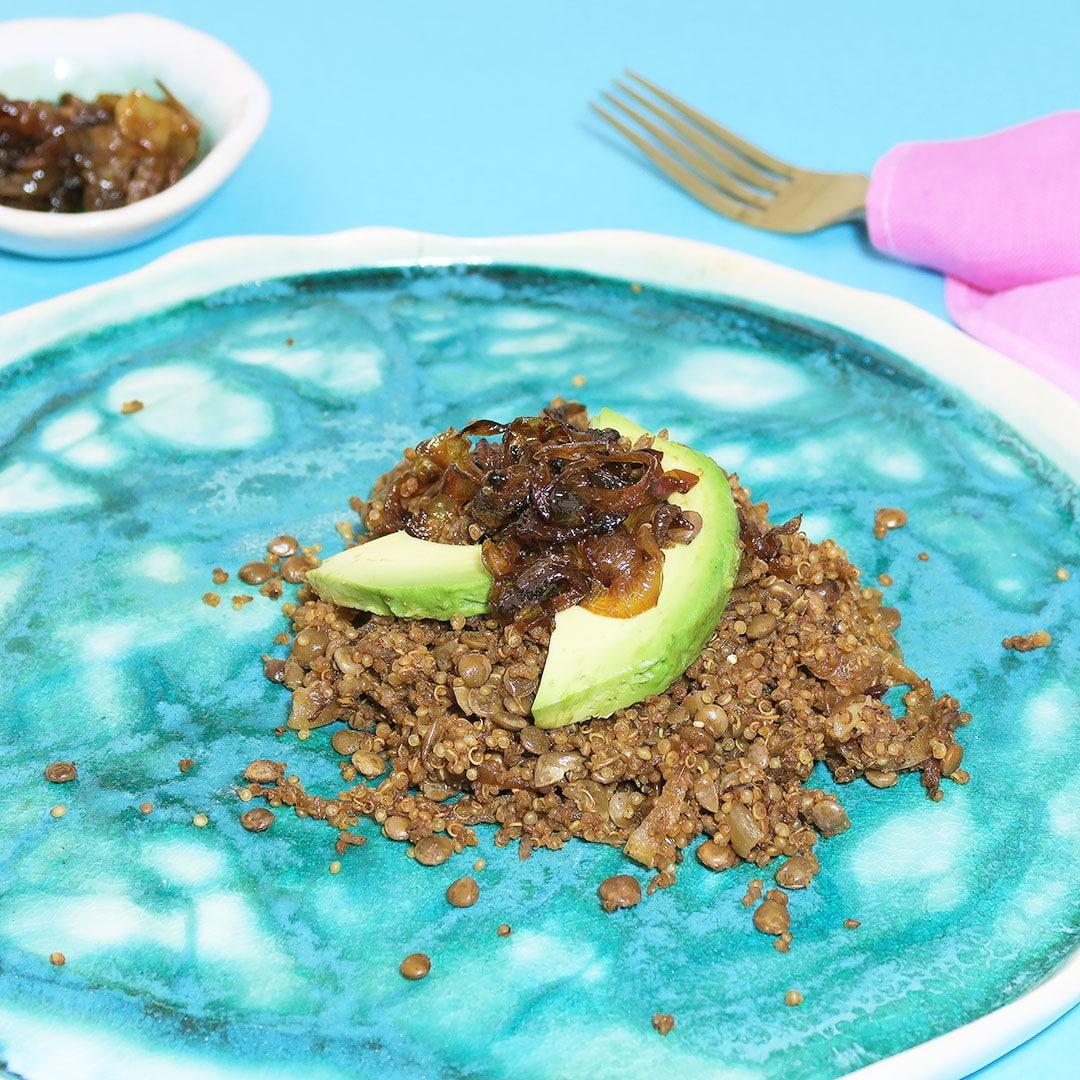 Quinoa Mujadara