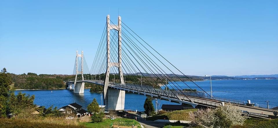 能登島と本土に架かる美しいハープ橋「ツインブリッジのと」【七尾市】