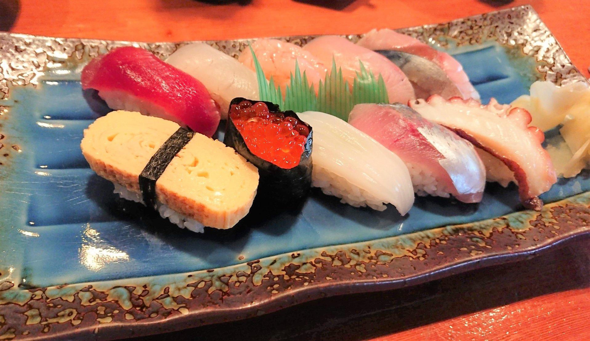 バランス最高の寿司ランチも楽しめる「繁寿し(しげずし)」【七尾市】