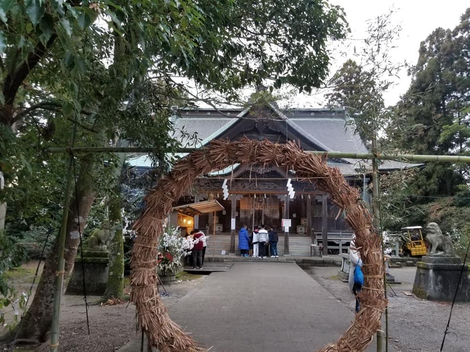"""初詣へ行ってきました!「気多本宮」地元通称""""本宮神社""""【七尾市】"""