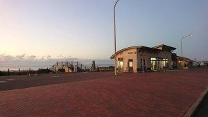 のと里山海道にある美しい夕景が見れる「志雄パーキングエリア」【宝達志水町】