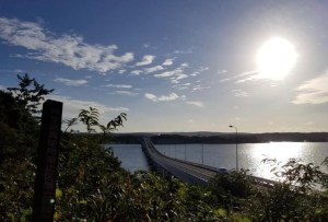 全長1050m石川県最長の橋!海と空を近くに感じることのできる能登島大橋【七尾市】