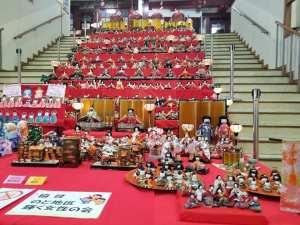 2021年 能登食祭市場ひな人形展【七尾市 能登食祭市場内】