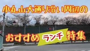 七尾市小丸山大通り沿い周辺のおすすめランチ特集【七尾市】