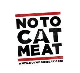 NoToCatMeat white