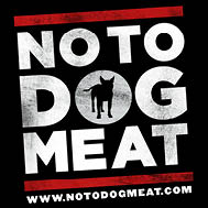 NoToDogMeat black sml