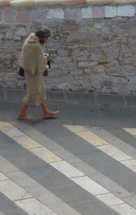 Assisi_Asyz_pielgrzym_pilgrim