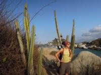 Tyrona National Park_small cactus_mały kaktusik w tle