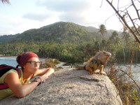 Tyrona National Park_nie chciał dac buzi_he didn't want to kiss me
