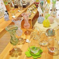 能登島ガラス工房所属のガラス作家作品