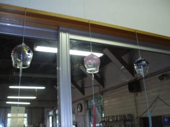 吹きガラス風鈴体験