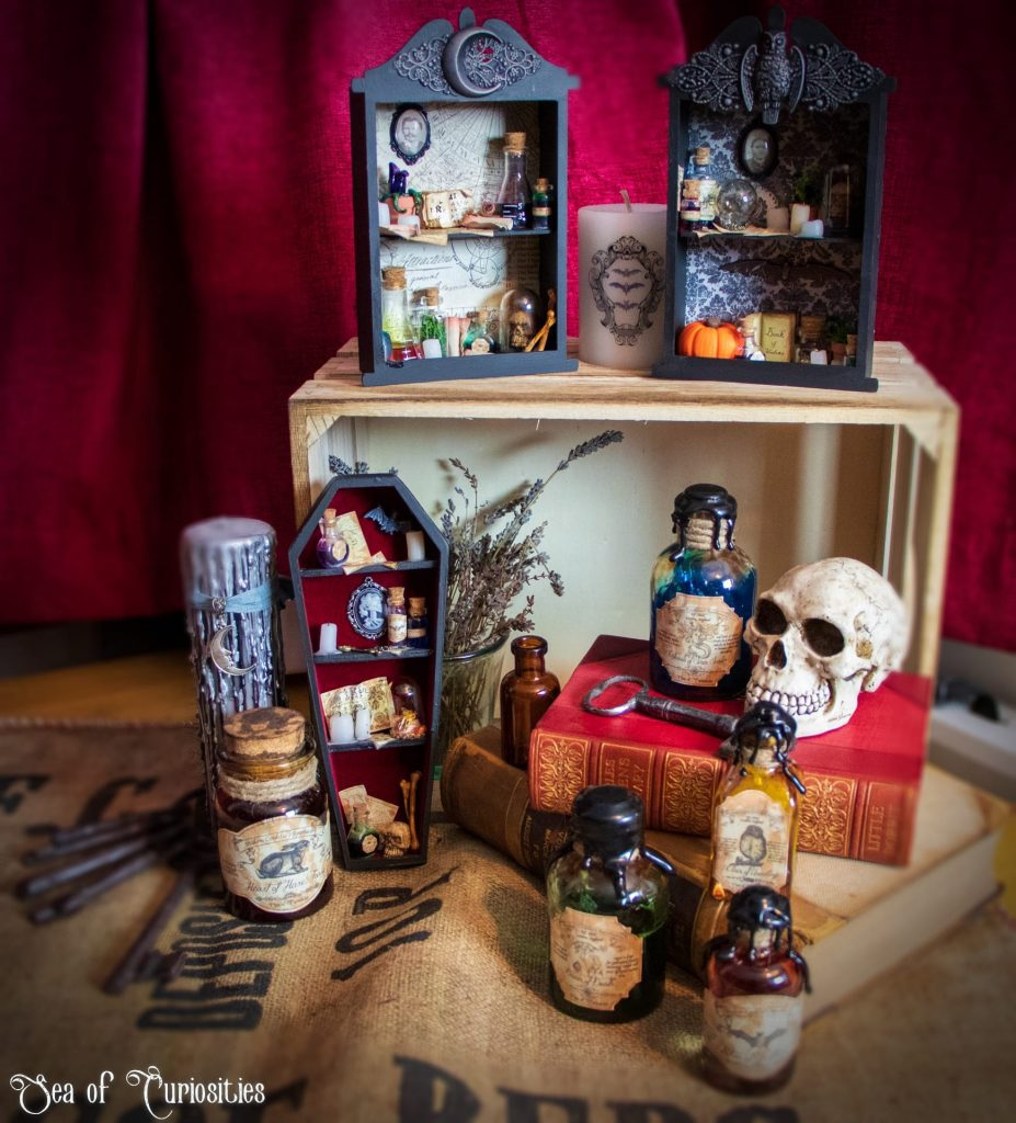 Collection of Apothecary inspired creations