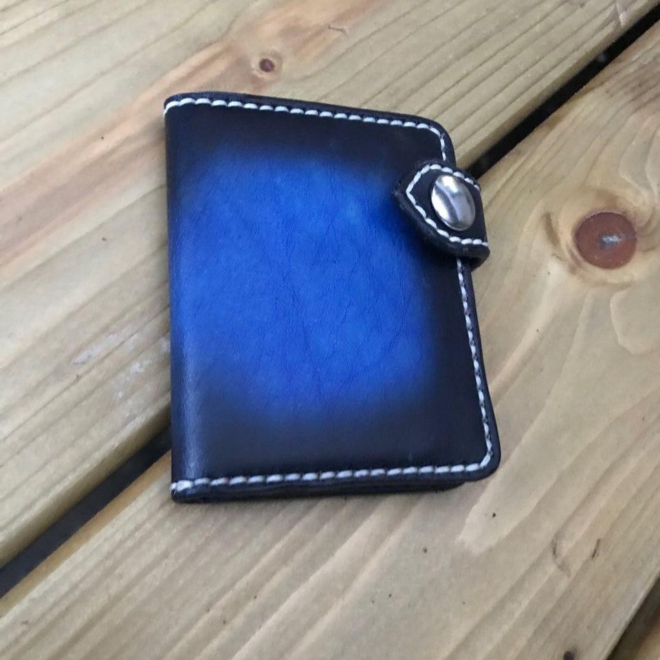 Bespoke Folding card wallet.