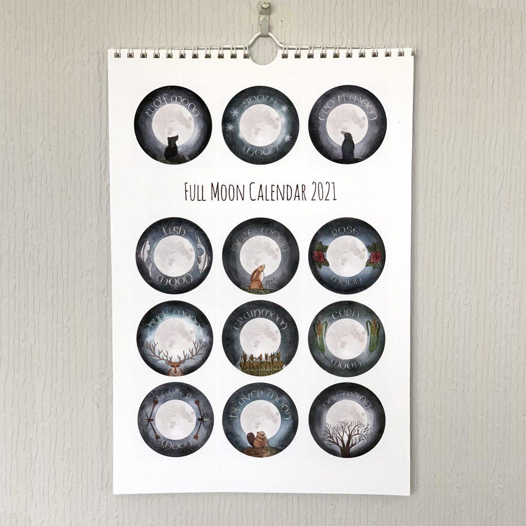 Full Moon Calendars