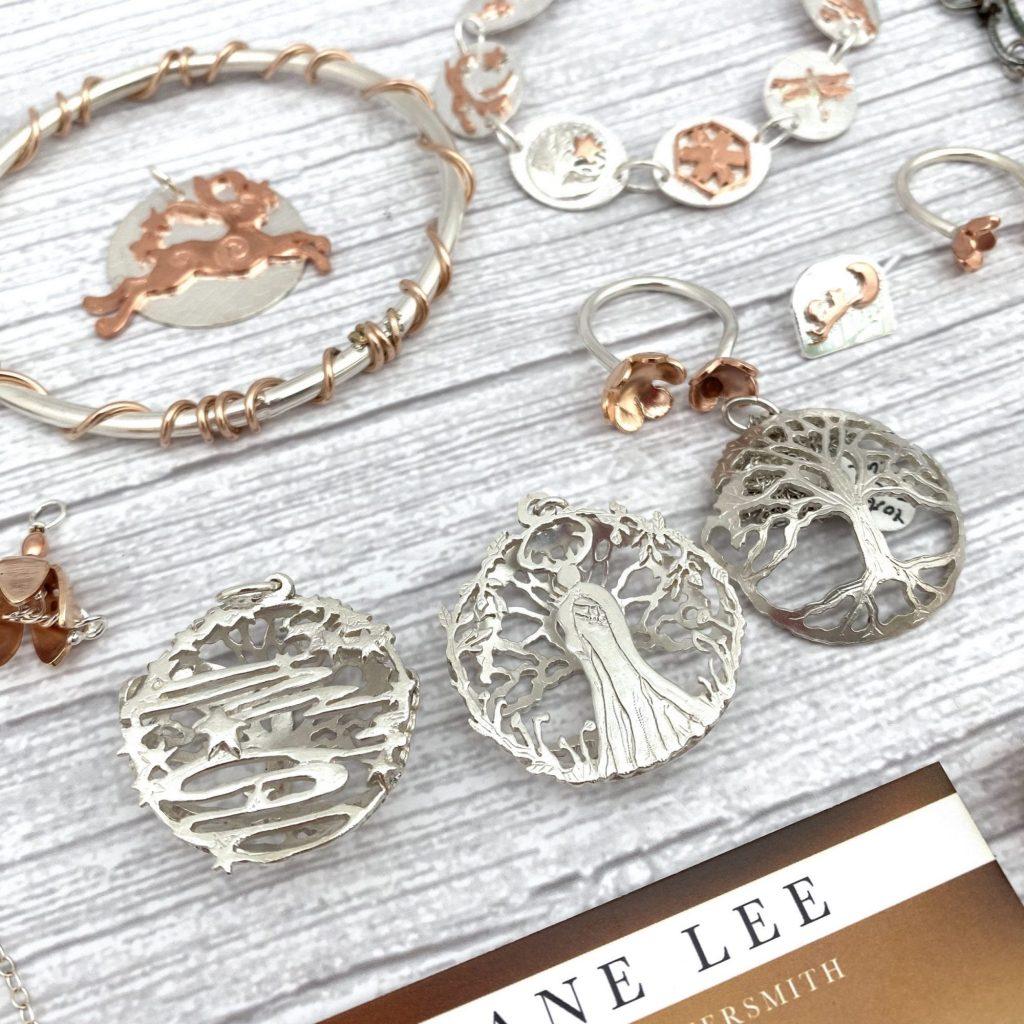 DianeLeeSilver pendants