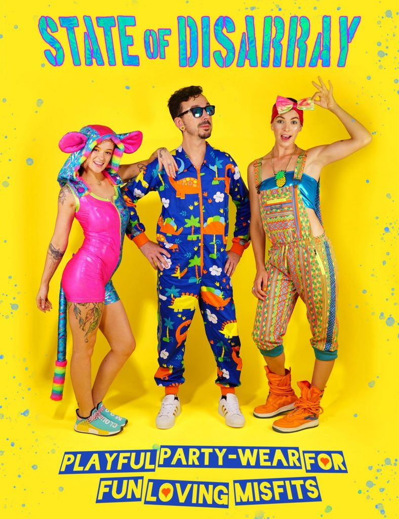 Playful Party-Wear for Fun-loving Misfits