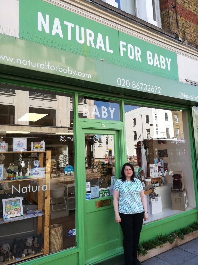 Natural for Baby. Organic and Natural Baby and Toddler Shop in SW London