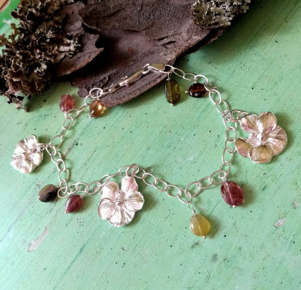 Orchids and Tourmaline