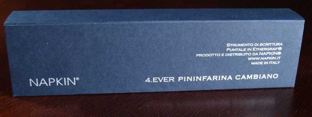 Napkin Pininfarina box