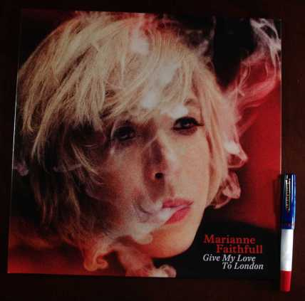 "Marianne Faithfull ""Give My Love To London"" and MarteModena Citizen London"