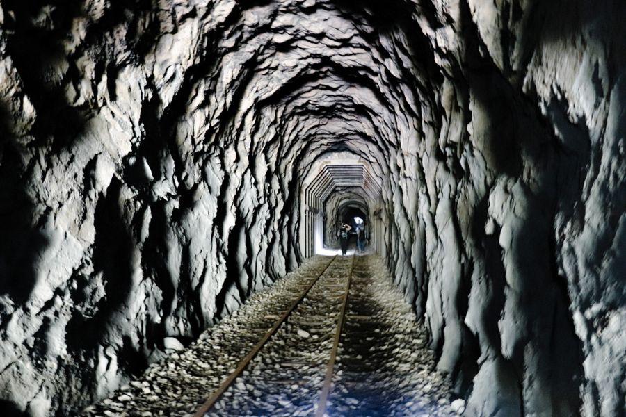 眠月線隧道景