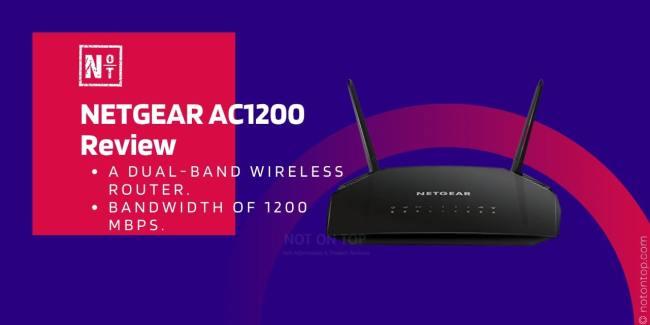 NETGEAR AC1200 Review