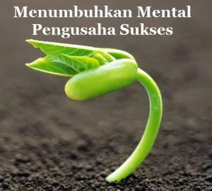 Menumbuhkan Mental Pengusaha Sukses