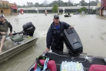 Cajun Navy in Hurricane Harvey