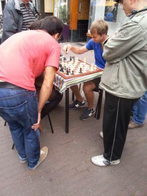 Chess as a team sport