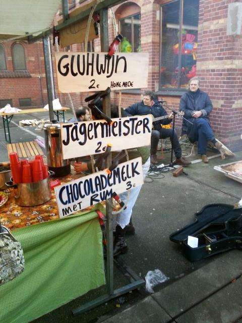 The joys of a winter market