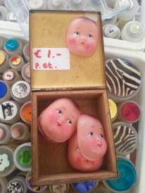Faces for a euro