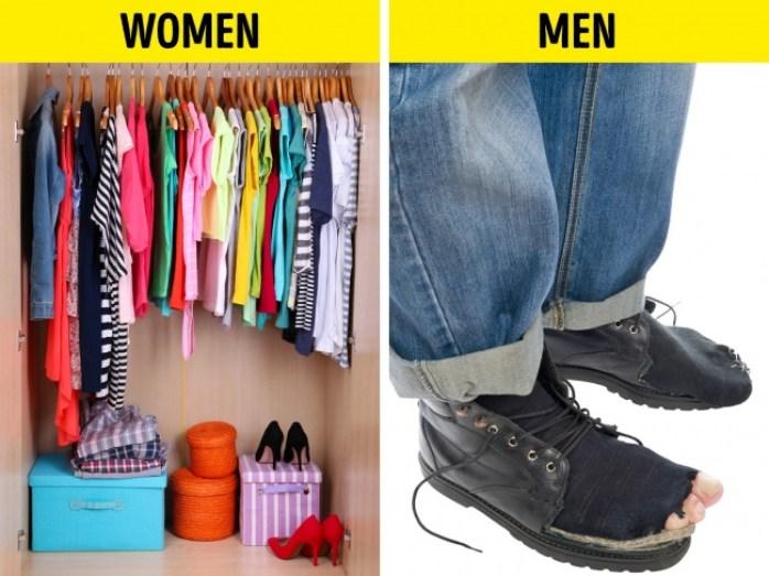 men:women clothes