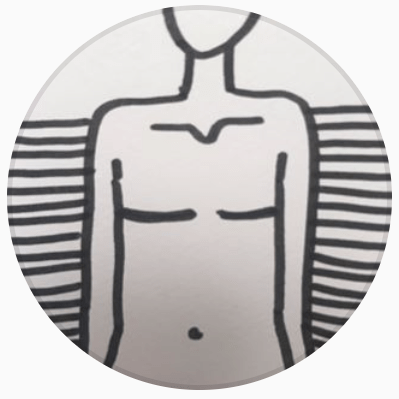 Cover for body positive flat imagery - aesthetic flat closure after mastectomy: @frameshiftflat
