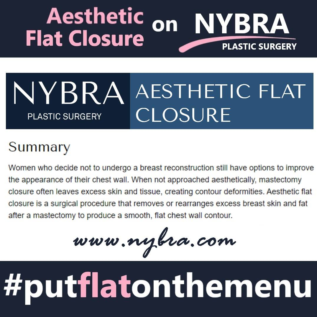 NYBRA website aesthetic flat closure valid reconstructive choice
