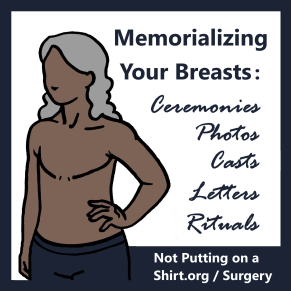 Memorializing your breasts before mastectomy