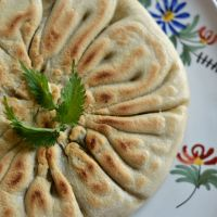 Mediterranean-Asian spirited nettle pie