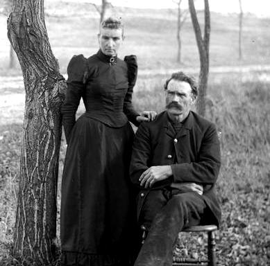 Outdoor Portrait of Man and Woman, Photo by Wisconsin Historical Society / flickr