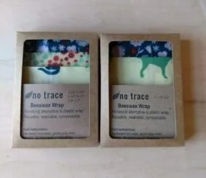photo of beeswax wraps in a 2 pack or a 3 pack
