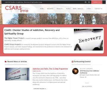 The Chester Studies of Addiction, Recovery & Spirituality Group