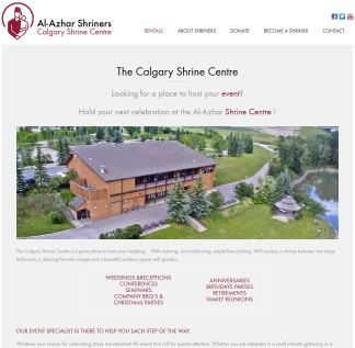 The Calgary Shrine Centre hired me to update their website to reflect some changing needs and boost the SEO - I dove in and tackled photos, pages, plugins, SEO, the lot. This was 2014 and they've changed again, but a lot of the content I added is still there I see https://calgaryshrinecentre.com/