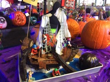 Citrouille:  Le bateau pirate