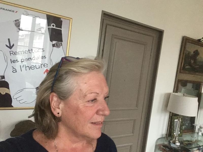 Élisabeth de Clisson, secrétaire NDA, retraitée AF