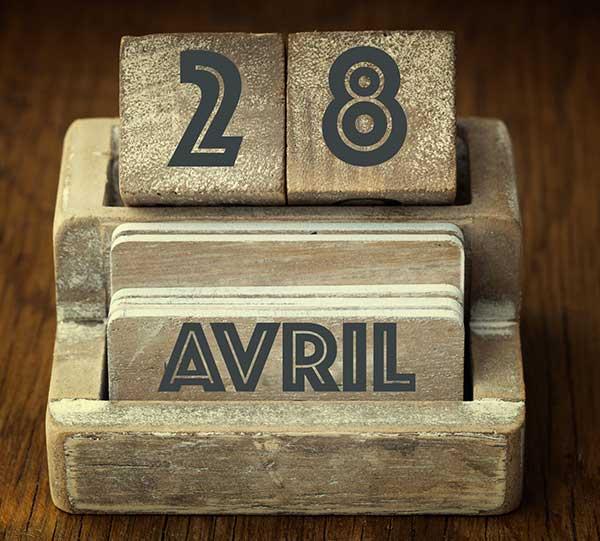 """Résultat de recherche d'images pour """"Ephéméride 28 avril 2019"""""""
