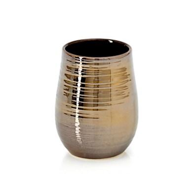 gobelet-a-dents-en-ceramique-doree-metallisee