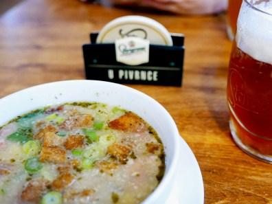 prague soupe ail
